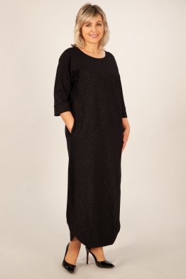 Платье Стелла (черный)
