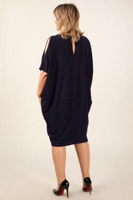 Платье Тиффани (темно-синий)