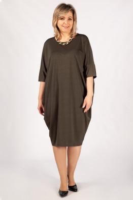 Платье Виктория (коричневый)