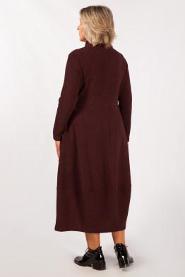 Платье Юна (бордо)