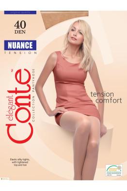 Колготки женские CONTE Nuance 40 den (nero черный)