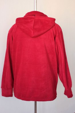Куртка Флис (бордо)